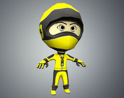 3D model Flip Rider Character 2