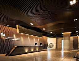 interior-design 3D model Lobby
