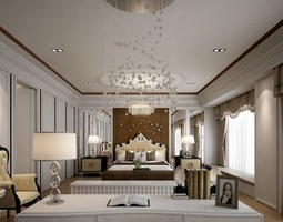 model 3D Bedroom
