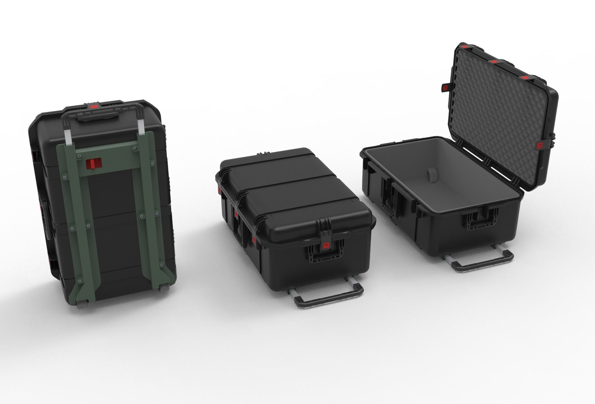 set of Box-Military Case  Pelican
