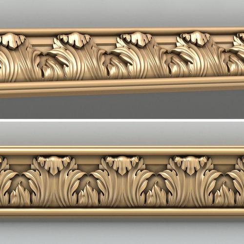 molding 004 3d model max obj mtl fbx stl 1
