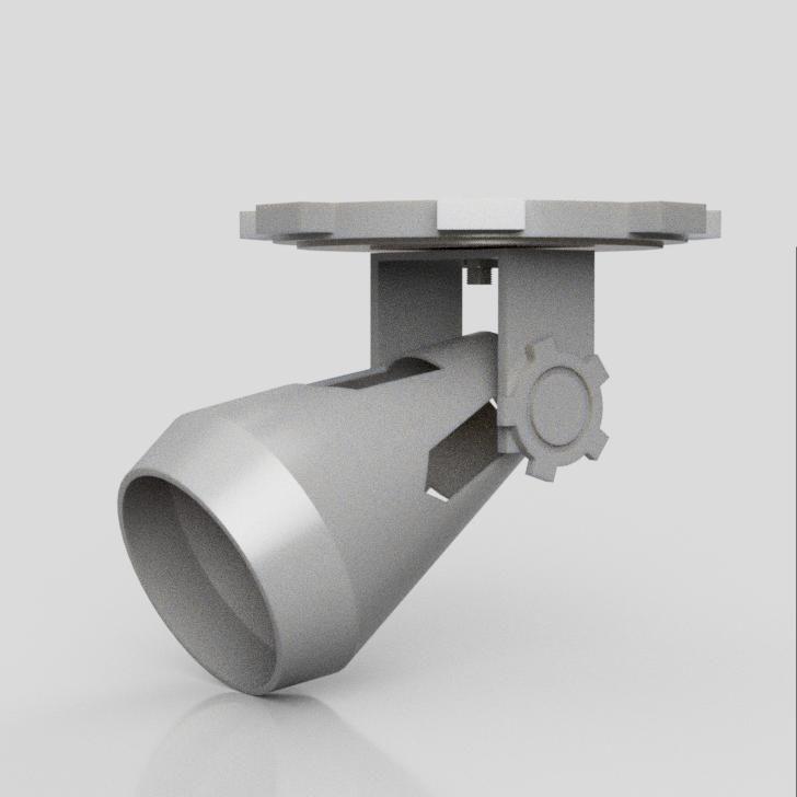 Simple Steampunk Lamp