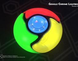 do-it-yourself google chrome lightbox 3d print model