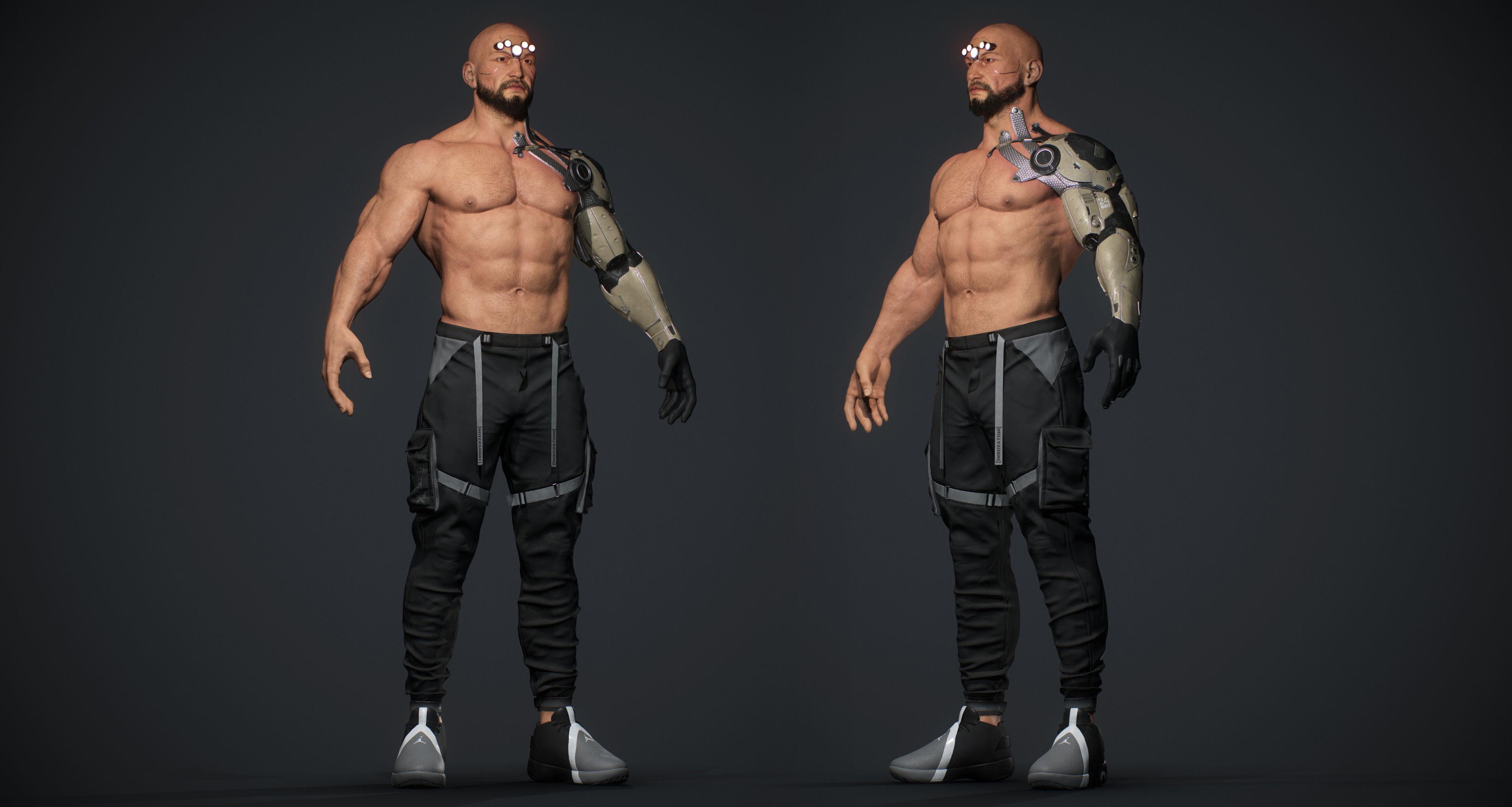 Cyberpunk Alexander