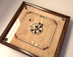 3d carrom board game