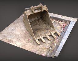 Backhoe Bucket 3D model