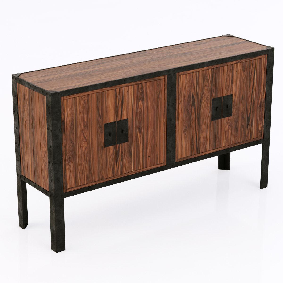 Dovetail furniture 3d model max obj mtl 3ds fbx 1