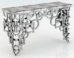 Cyan Designs Volos Console Table 3D model