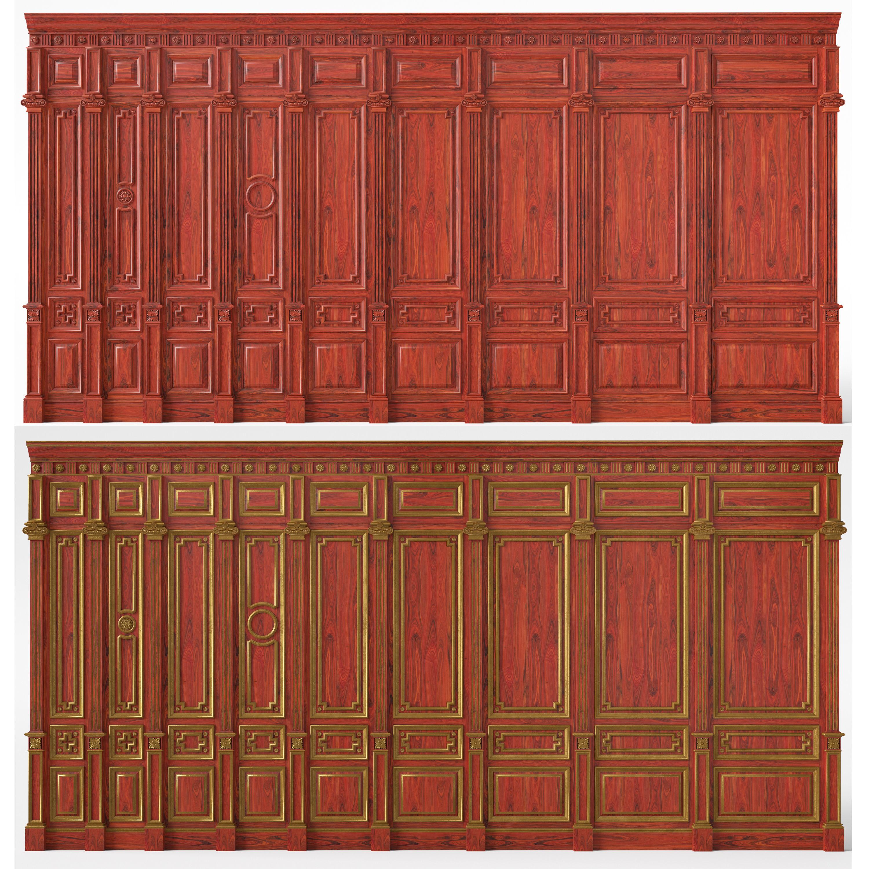 Wooden panels 03 04