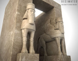 3D ancient Gate of All Nations
