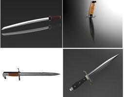 Weapon Blades 3D model