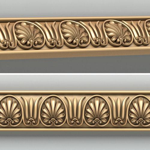 molding 009 3d model max obj fbx stl 1