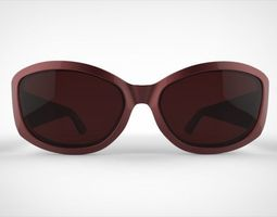 guess sunglasses 3D model