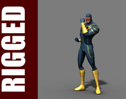 cyclops rig 3d model ma mb