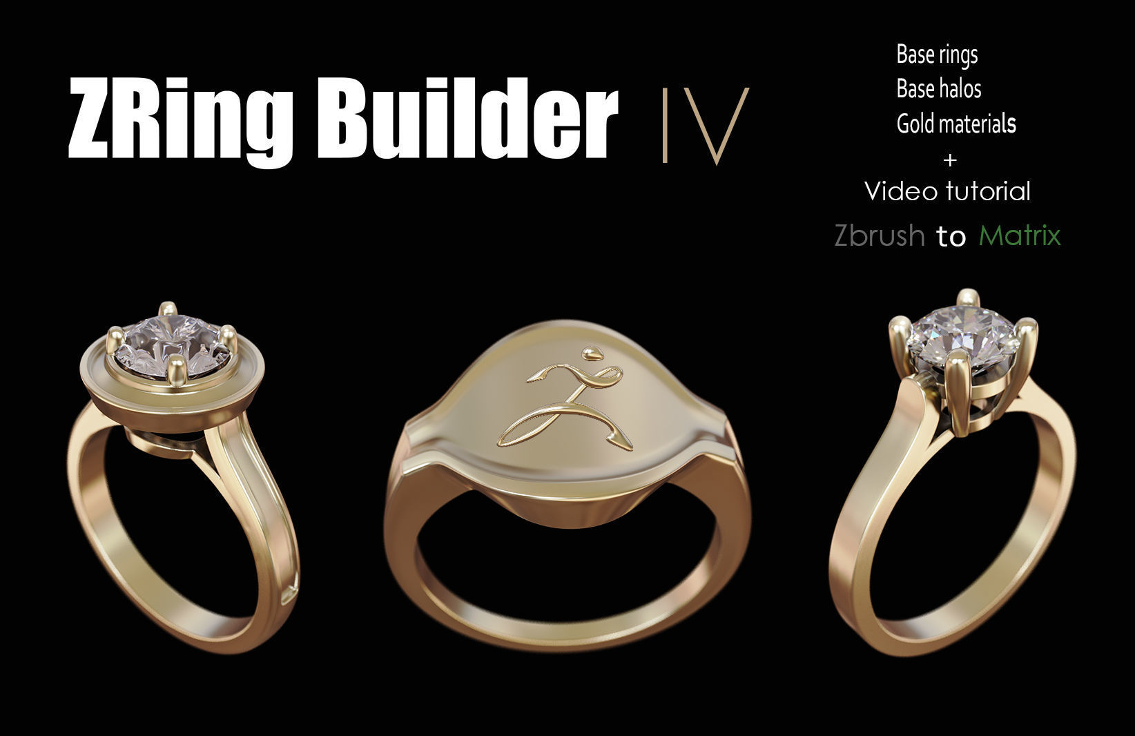 Zbrush jewelry Ring builder 4