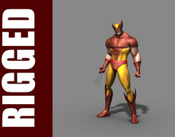 Wolverine RIg 3D