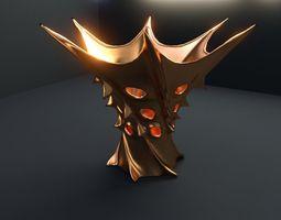 3d vase of king of mars 05