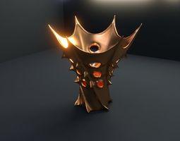 3d vase of king of mars 06