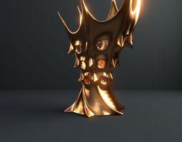 Vase of king of Mars 3D household