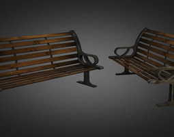 3D asset Bench