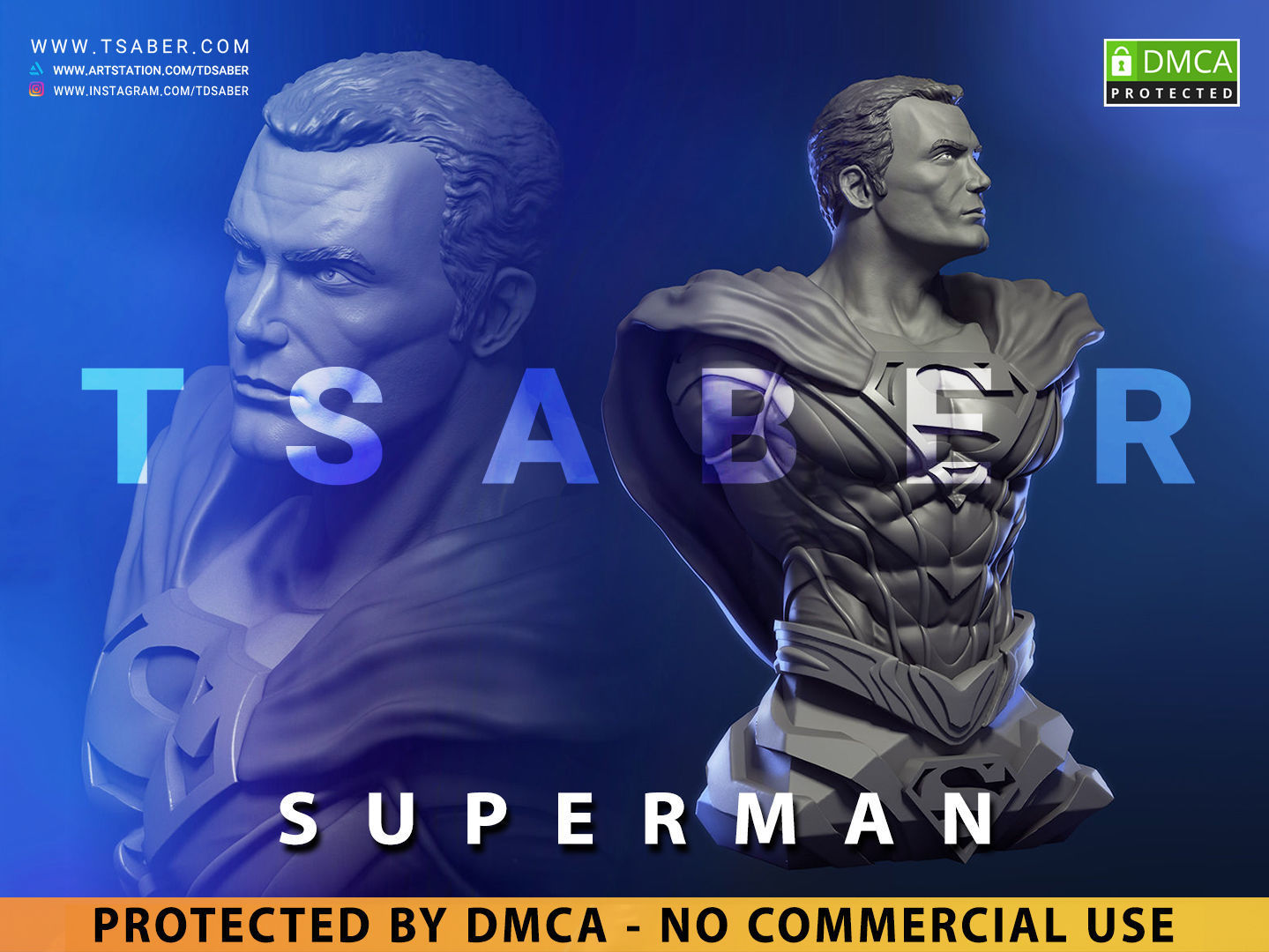 Superman Bust - DC Comics Collectibles
