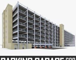 Multistory Parking Garage 01 3D model