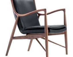 3d model scandinavian armchair