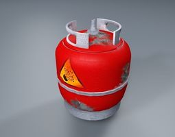 gas tank 3d model VR / AR ready
