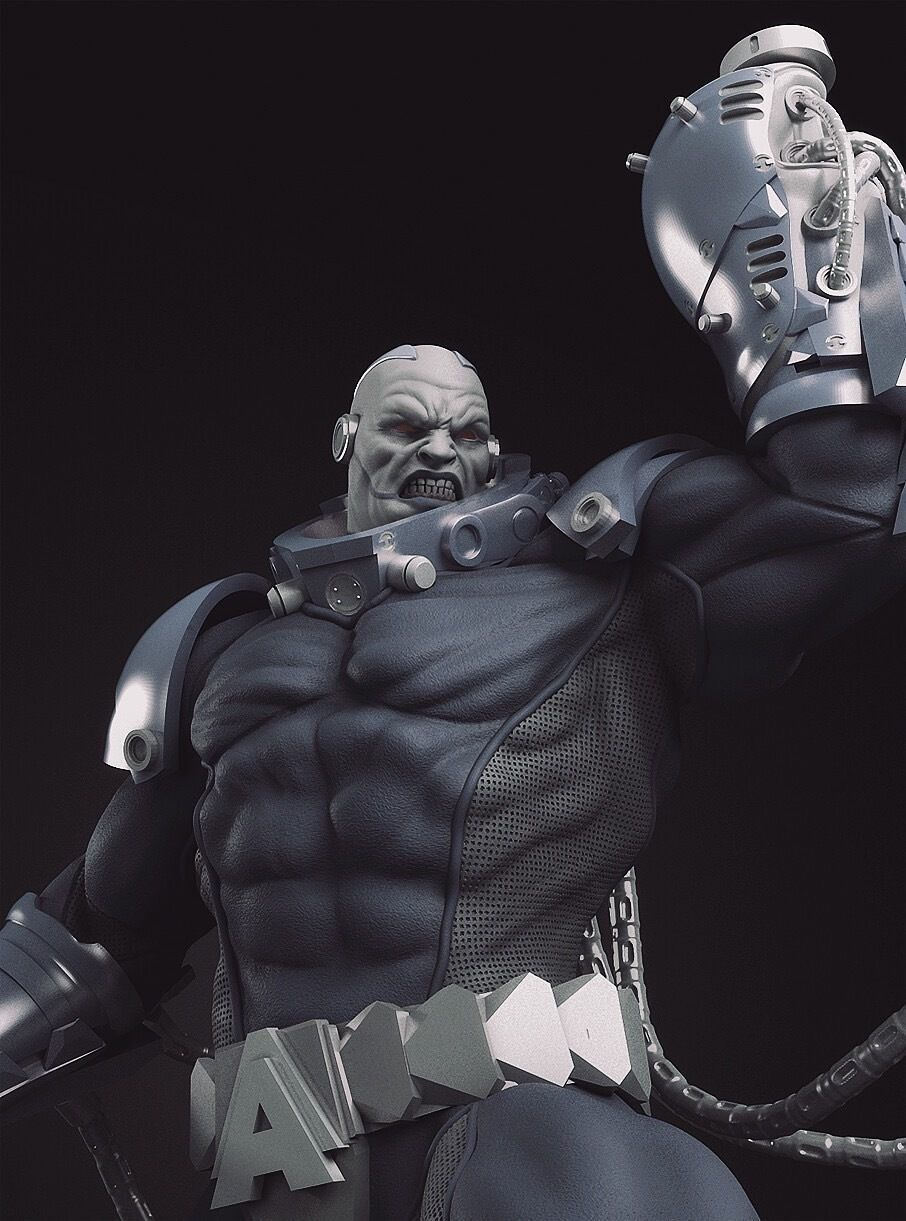 Apocalypse X-Men 3Dprint Model