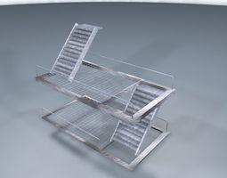 3d model iron base realtime