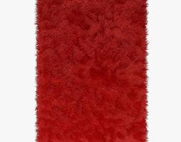 3D Carpet Red