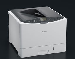 3d model printer canon i-sensys lbp7780cx