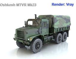 Oshkosh MTVR Mk23 3D model