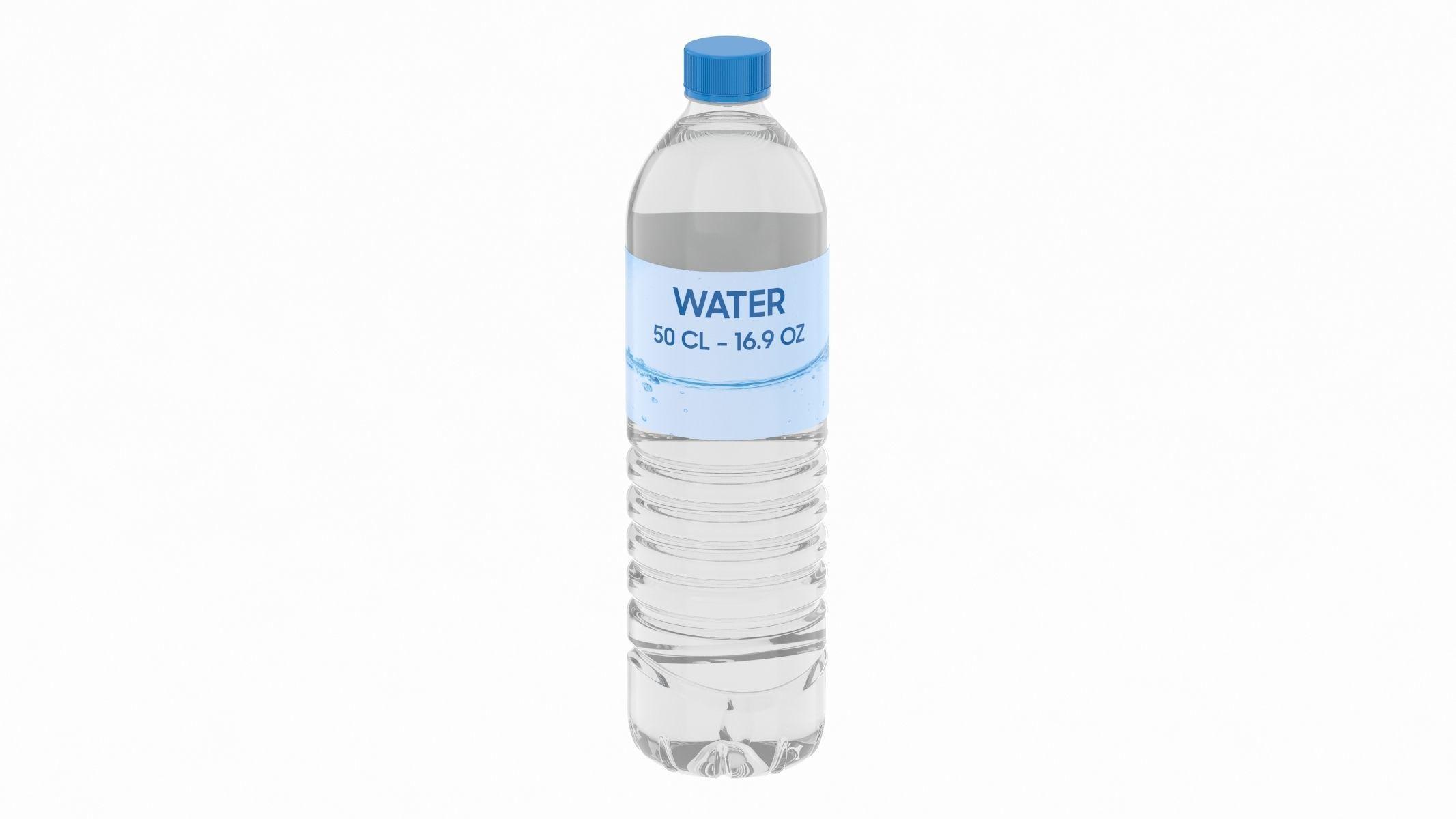Water Bottle 50 CL 16 OZ