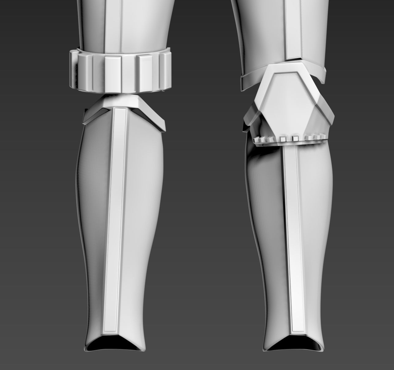 Star Wars Rogue One TK First Imperial Stormtrooper shin Armor