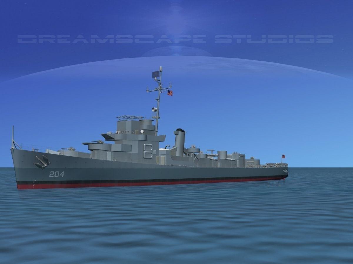 Destroyer Escort DE-204 USS Jordan