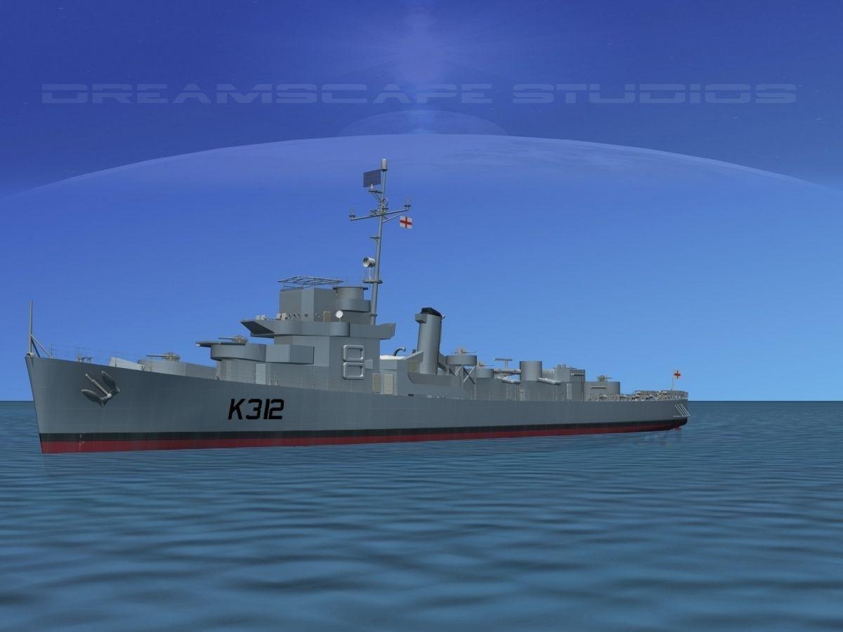 UK Captains Class Frigate Berry