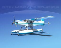 Dehavilland DHC-2 Turbo Beaver V01 3D