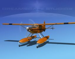 DeHavilland DHC-2 Turbo Beaver V05 3D model