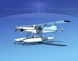 3D model DeHavilland DHC-2 Turbo Beaver V15