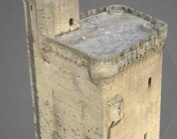 3D model Tower Philippe le Bel Avignon France