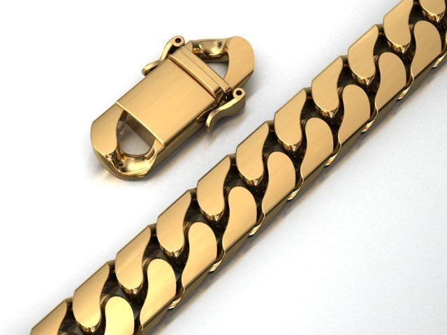 13 MM MIAMI CUBAN LINK CHAIN BRACELET OR NECKLACE