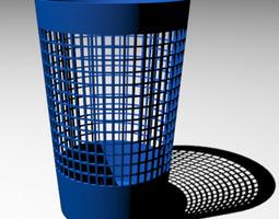3D Paper Waste Basket