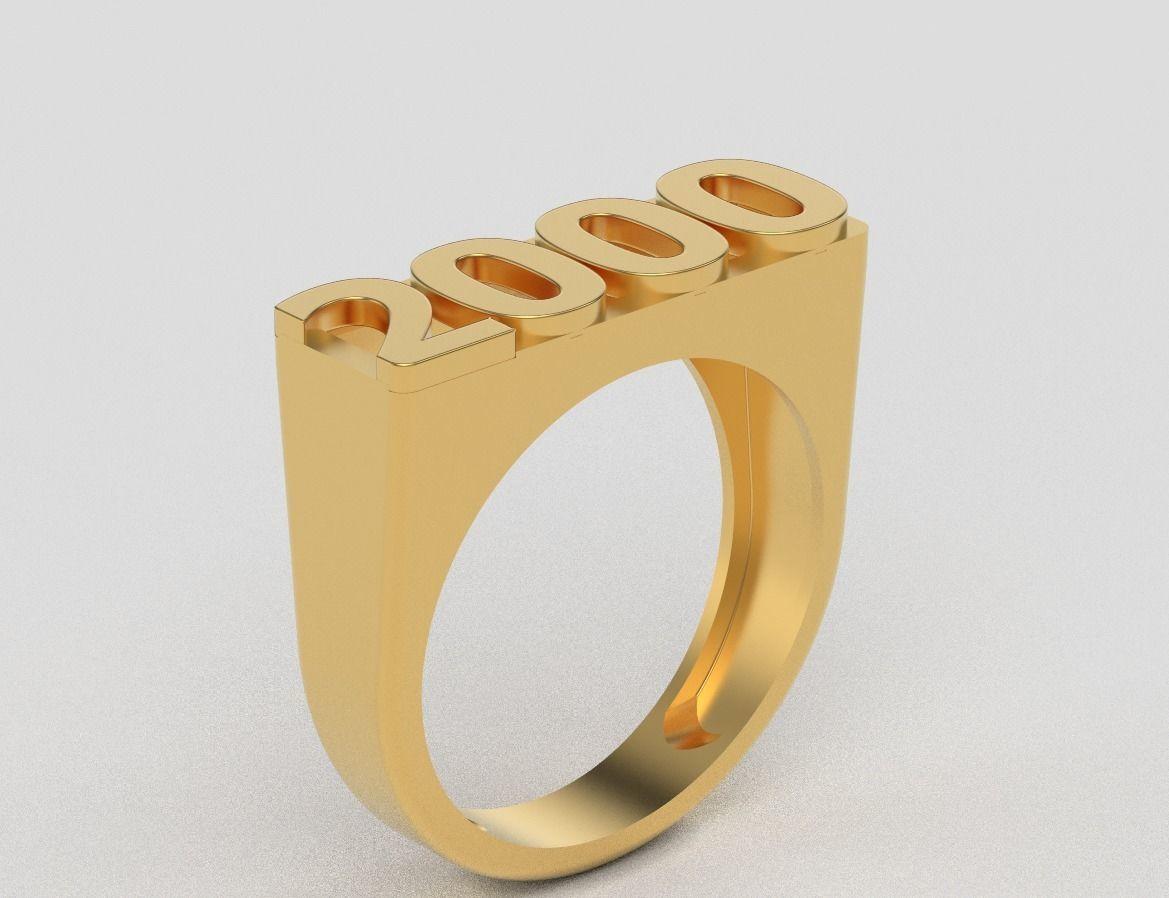 year ring 2000