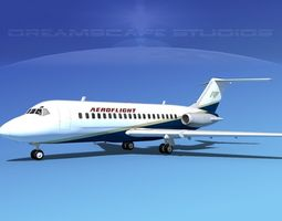 3D model Doulgas DC-9-20 AeroFlight