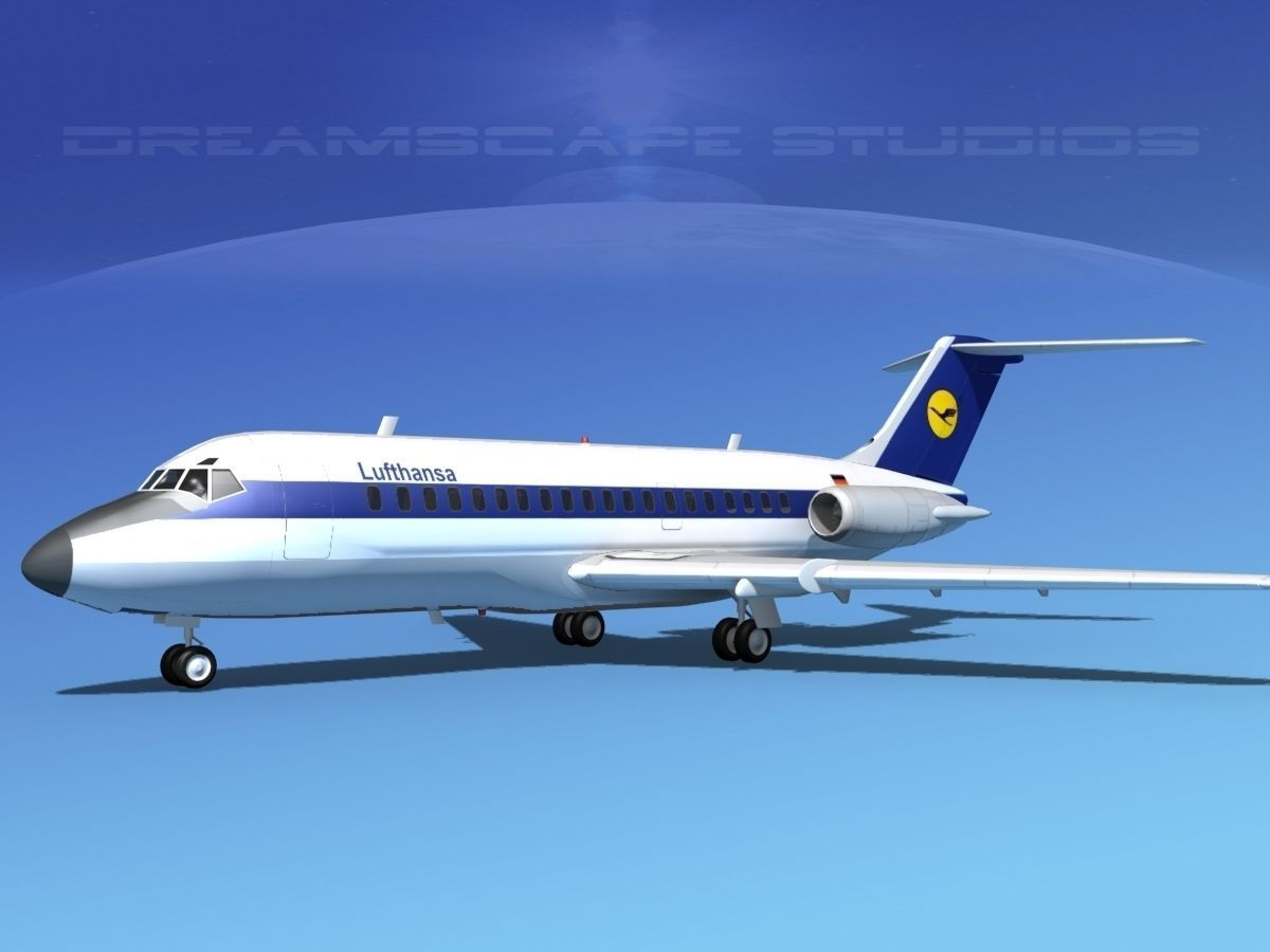 Douglas DC-9-20 Lufthansa