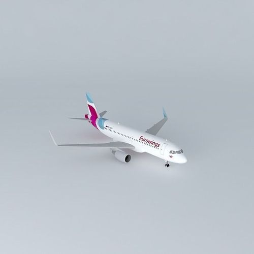 Eurowings Airbus A320 241 D AIZQ New Livery 2015 Sharklets