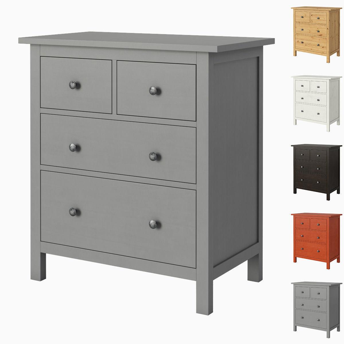 HEMNES 4-drawer chest