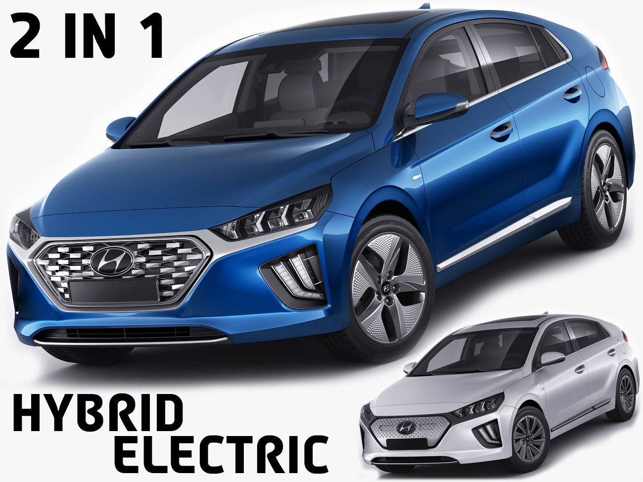 Hyundai Ioniq Hybrid and Electric 2020