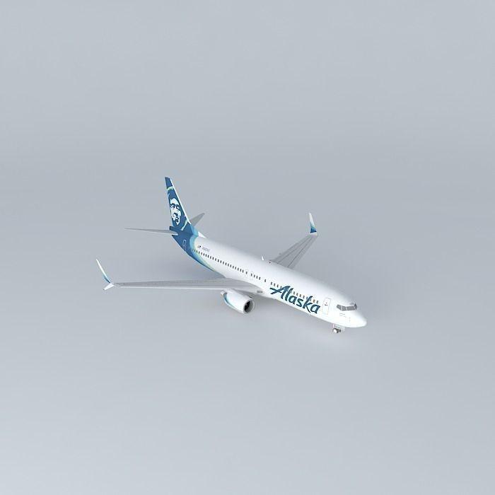 Alaska Airlines Boeing 737 890 N563AS  New Livery 2016 Split ...